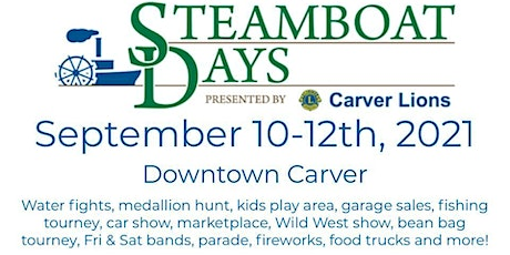 Carver Steamboat Days Sponsorships tickets