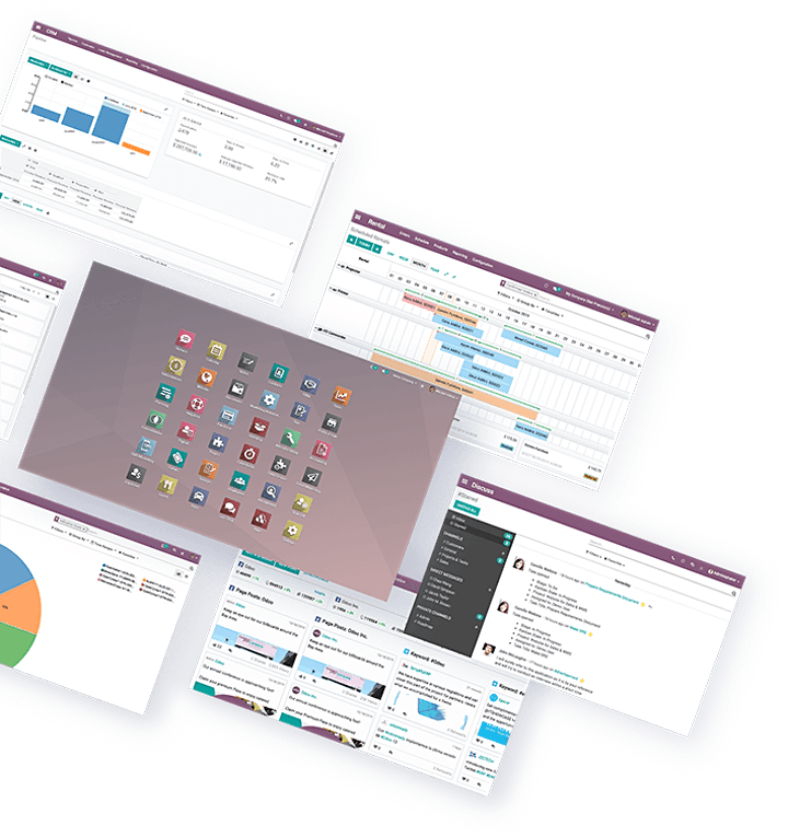 Smarte Software für smarte Teams – Besser arbeiten mit Odoo: Bild