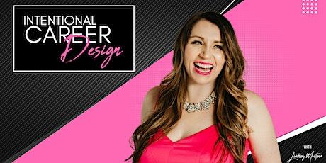 Intentional Career Design Workshop boletos