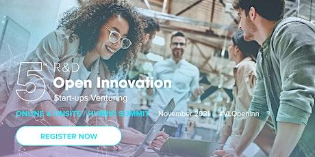 5th R&D, Open Innovation & Start-ups Venturing Summit tickets