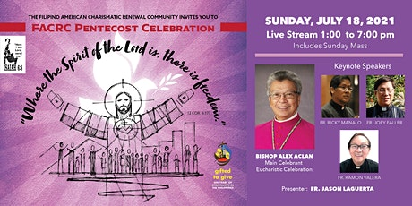 FACRC Pentecost Celebration 2021 tickets