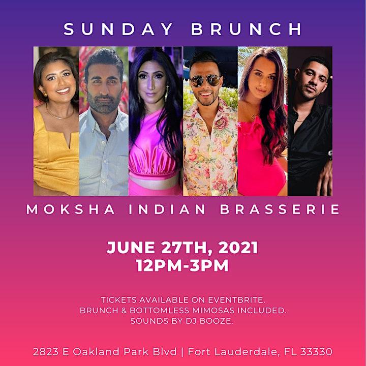 Sunday Brunch at Moksha Indian Brasserie with Family Karma! image