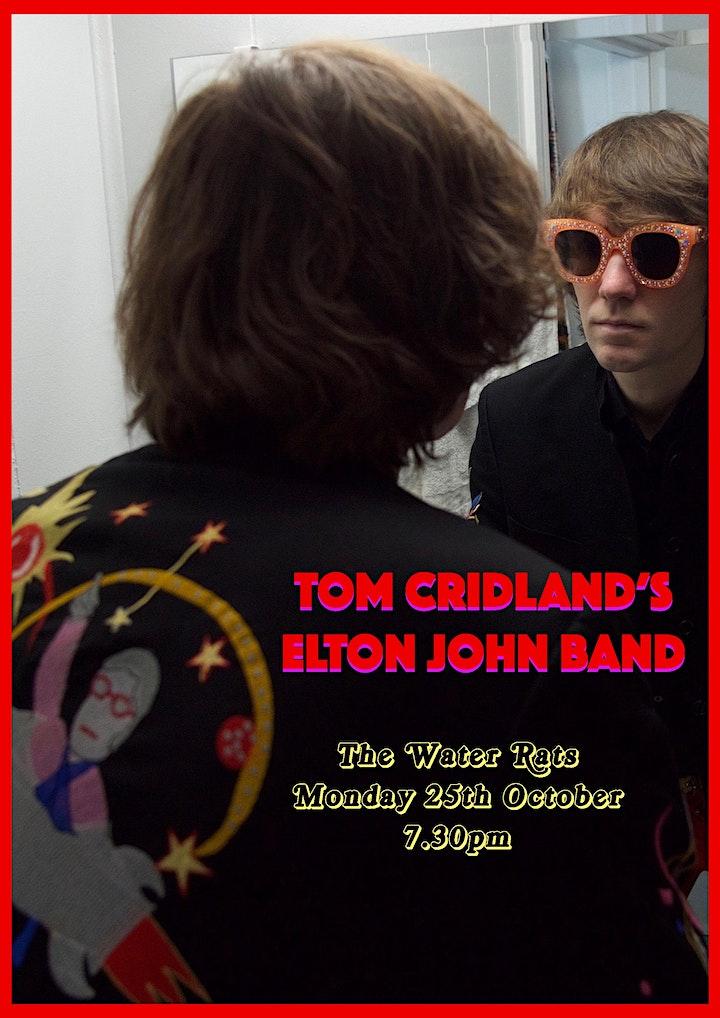 Tom Cridland's Elton John Band live at The Water Rats image