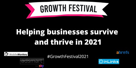 Growth Festival  - October 1st 2021 tickets