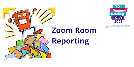 Zoom Room Reporting TD Summer Reading Club tickets