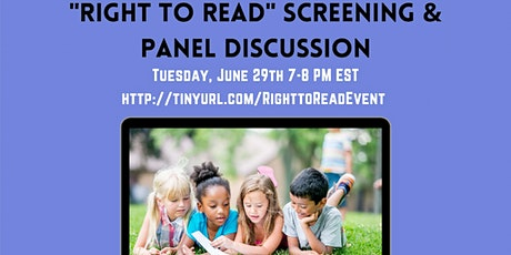 """""""Right to Read"""" Film Screening & Panel Discussion tickets"""