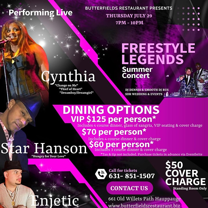 Summer Freestyle Concert with Cynthia! image