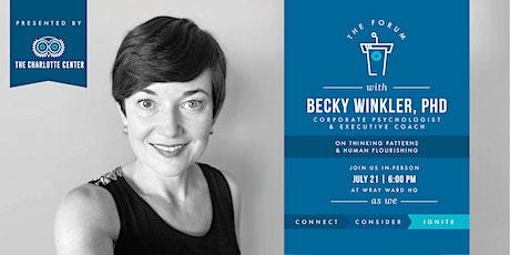 The Charlotte Center presents The Forum  featuring  Becky Winkler tickets