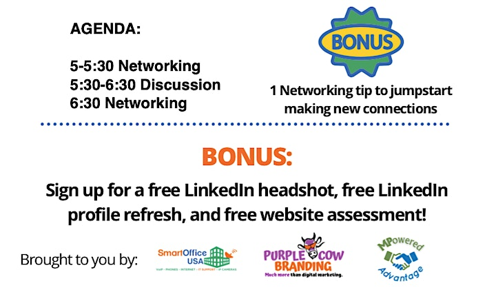 LinkedIn RoundTable + Networking HH! image