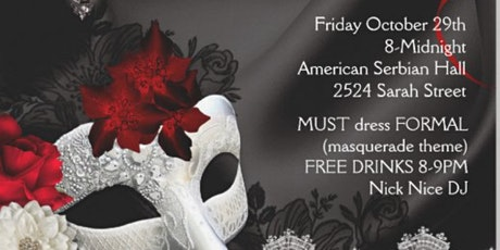 Black Tie Masquerade Gala and Networking Event tickets