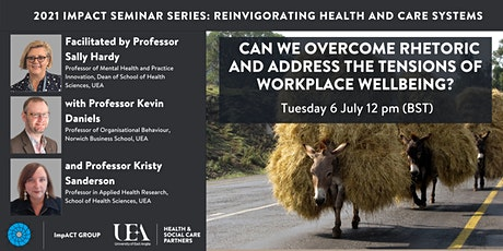 Workforce and workplace wellbeing - lessons learned tickets