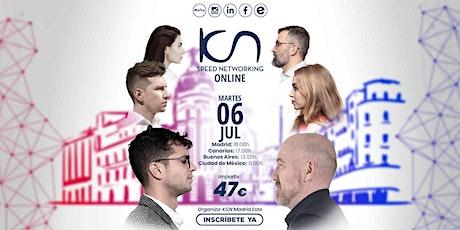 KCN Madrid Este Speed Networking Online 6 Jul entradas