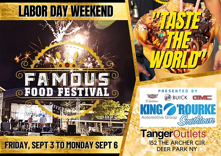 "Famous Food Festival "" Taste the World"" Long Island, NY - 2021 image"
