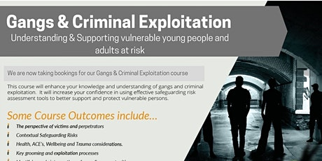 Gangs and Criminal Exploitation tickets