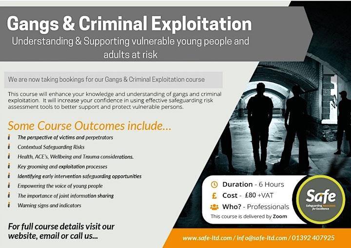 Gangs and Criminal Exploitation image
