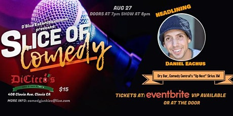 Slice of Comedy headlining Daniel Eachus tickets