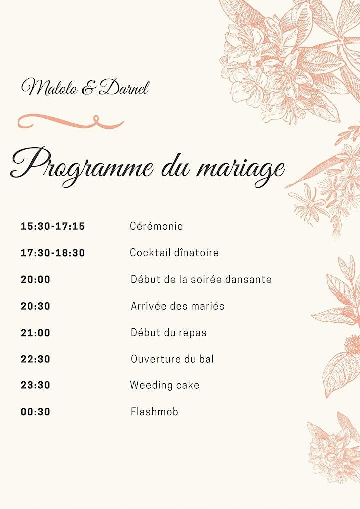 Image pour Mariage Royale Malolo & Darnel