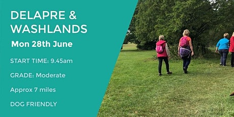 DELAPRE AND WASHLANDS | 7 MILES | MODERATE | NORTHANTS tickets