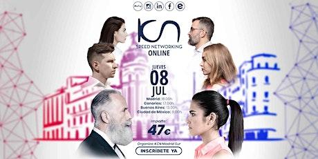 KCN Madrid Sur Speed Networking Online 8 Jul entradas