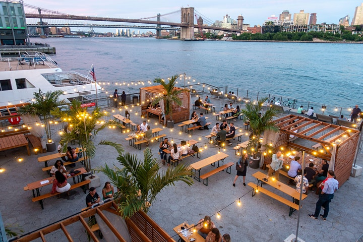 FRIDAYS: TGIF HAPPY HOUR & SUNSETS @ WATERMARK BEACH - PIER 15 NYC image