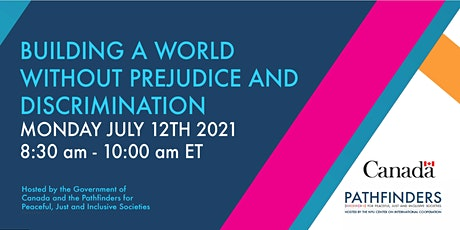 Building a World Without Prejudice and Discrimination tickets