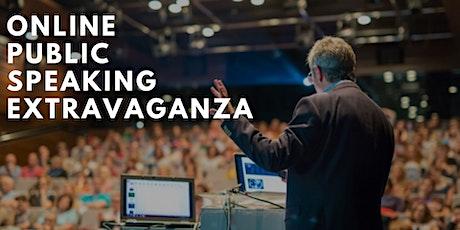 Online Public Speaking Extravaganza: Good to Great tickets