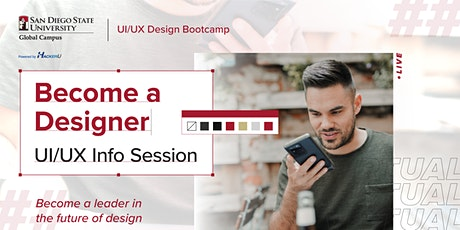 Become a Designer   UI/UX  Virtual Info Session tickets
