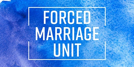 Forced Marriage Online Workshop for Police Officers tickets