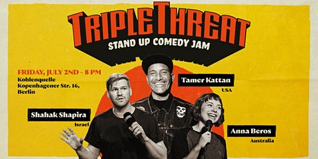 TRIPLE THREAT - Stand Up Comedy Jam tickets