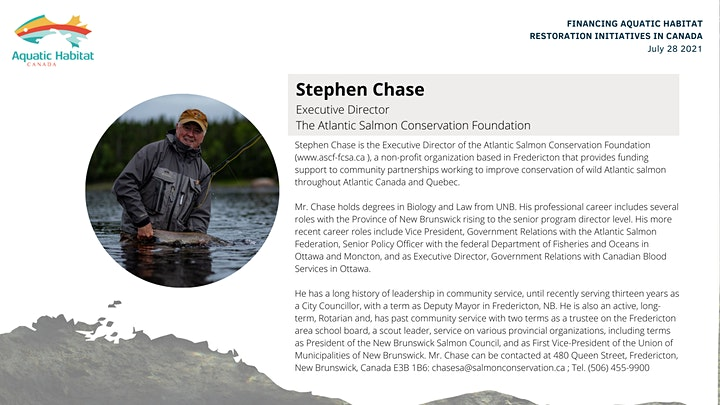 Financing Aquatic Habitat Restoration Initiatives in Canada image