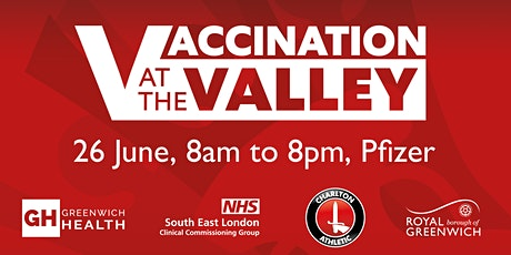 Vaccination at The Valley tickets