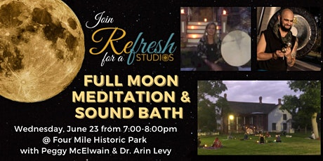 Full Moon Guided Meditation & Sound Bath tickets