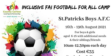 Inclusive FAI Football For All Camp tickets