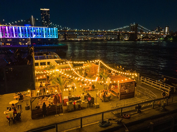 """TUESDAYS: """"WINE & DINE"""" ON THE WATER @ WATERMARK w/HAPPY HOUR & $1 OYSTERS image"""