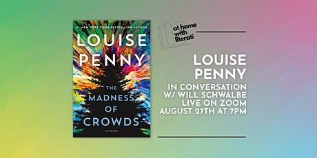 At Home with Literati: Louise Penny & Will Schwalbe tickets