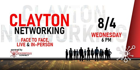 Free Clayton Rockstar Connect Networking Event (August, Clayton NC) tickets