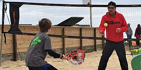Junior Beach Tennis Coaching 2021 - Saturday 10 July - 21 August tickets