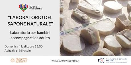 """""""Laboratorio del sapone naturale"""" - Produzione con tecnica a freddo biglietti"""