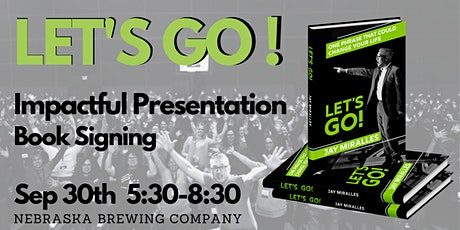 Let's Go!  Speaker, Podcaster, Consultant, and Author Jay Miralles tickets