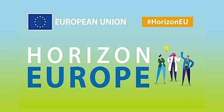 Il nuovo programma Horizon Europe biglietti