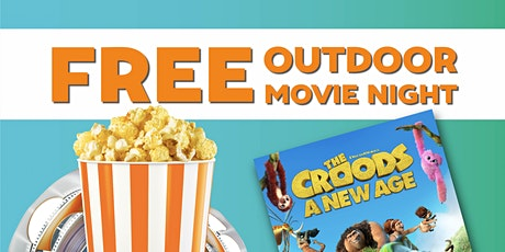 Free Outdoor Family Movie Night in Avon! (Croods 2) tickets