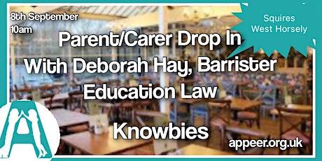 """Appeer Parent / Carer Drop In - """" Knowbies"""" with Deborah Hay tickets"""