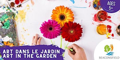 Art dans le jardin: pinceaux naturels / Art in the Garden: natural brushes billets