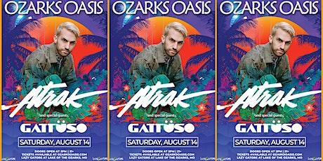 Ozarks Oasis feat. A-Trak at Lazy Gators 8/14 tickets