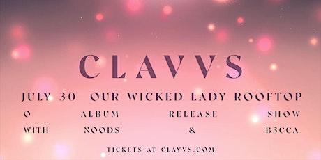 ROOFTOP show! CLAVVS, Noods, b3cca tickets