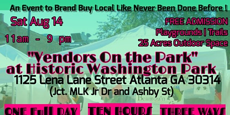 Location Changed.Vendors On The Park  Atlanta tickets
