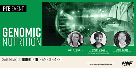 Genomic Nutrition with Featured Speaker Dr. Judy Mikovits tickets
