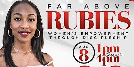 Far Above Rubies: Women's Empowerment Through Disc tickets