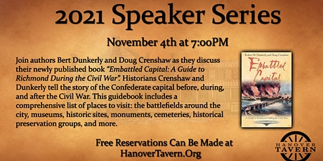 Speak Series: Embattled Capital, A Guide to Richmond During the Civil War tickets