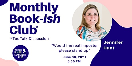 """Monthly Book-ish Club   """"Would the real imposter please stand up"""" tickets"""